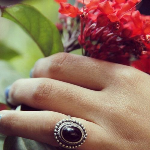 PhotographyClass Flower Ring Electricblue Blah AnnoyingHashTags Instathis Instathat