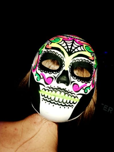 MexicanGirl One Woman Only Multi Colored Animal Wildlife Festival Time Indoorlight FunPeople