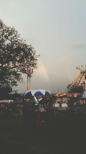 Rainbows can bring a smile to my face
