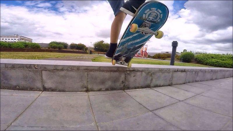 Shooting my friend shreddings a little ledge First Eyeem Photo Skate Skateboarding Skateboards