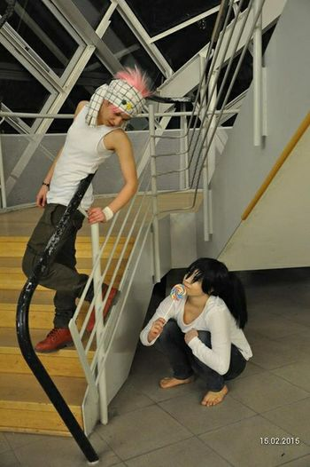 Natsu Natsu Dragneel Death Note natsu x female L Cosplay Cosplayer Cosplay<3 Cosplaying Japanstyle Fun Anime