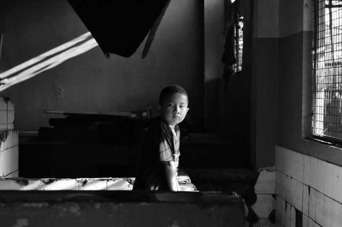 Childhood Elementary Age Indoors  Cute Real People One Person Home Interior Girls Day Photowalk Child Light And Dark Dreams Poverty Potential  Ambitions Education EyeEmNewHere
