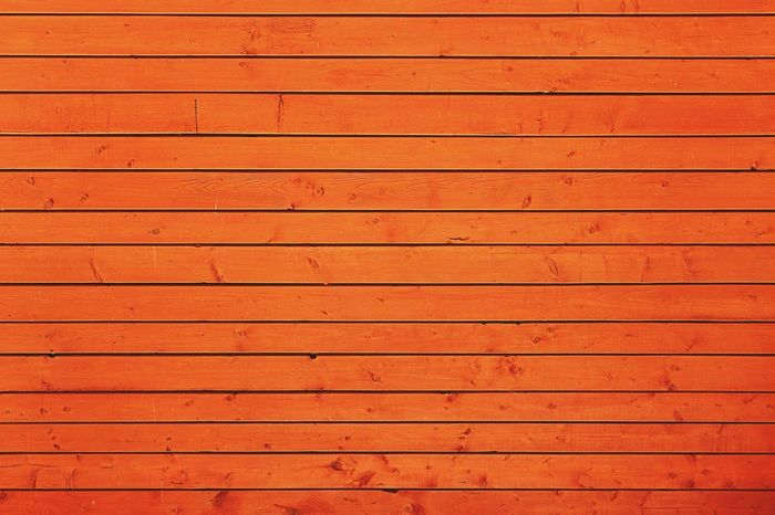 Lines Wooden Wall Wallpaper Orange Lines Rythm Boards
