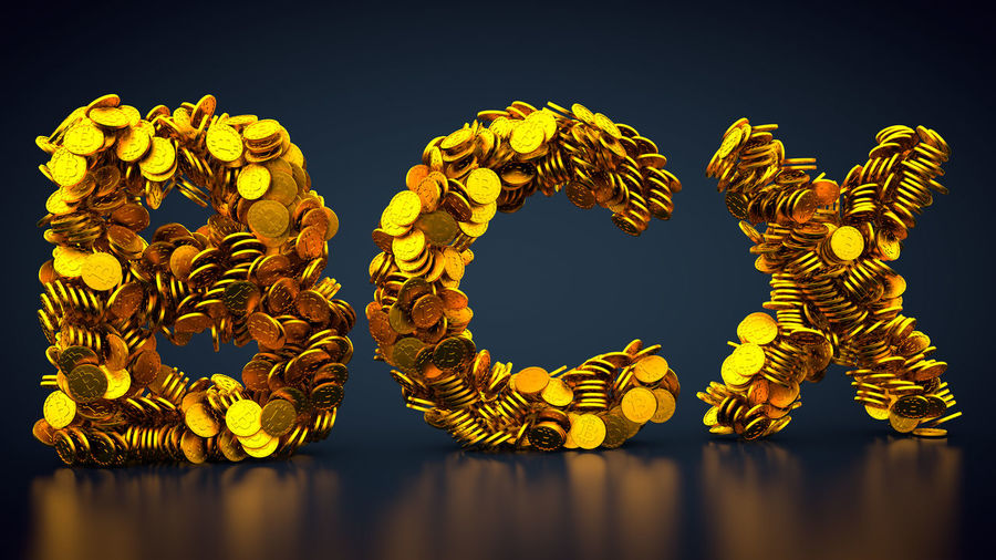 crypto currency bitcoinX symbol 3d Rendering CryptoCoin Currency Gold Golden Golden Coins Money Money Money Bcx Bitcoin BitcoinX Cash Coin Coins Crypto Crypto Currency Cryptocurrency Cryptographic Cryptography Gold Colored Golden Coin Money Rendering Symbol
