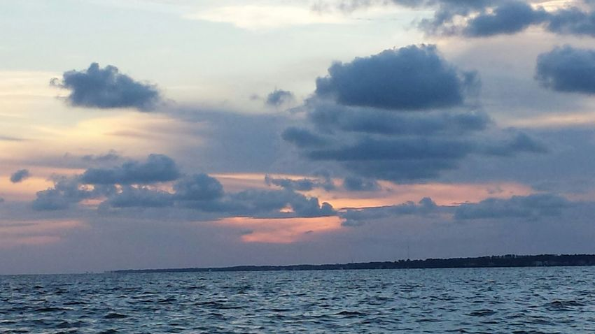 Sunset tonight at Navarre Beach. Sky Drama Natural Beauty Life Is A Beach Navarre Beach Navarre Water Reflections Clouds And Sky Beautiful