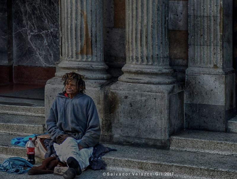 Lady outside church Church Adult Architectural Column Architecture Beggar Homeless One Person Outdoors People Real People Sitting