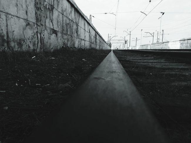 railway.. Weather Drop Wet No People Sky Water Outdoors Day Bird Nature