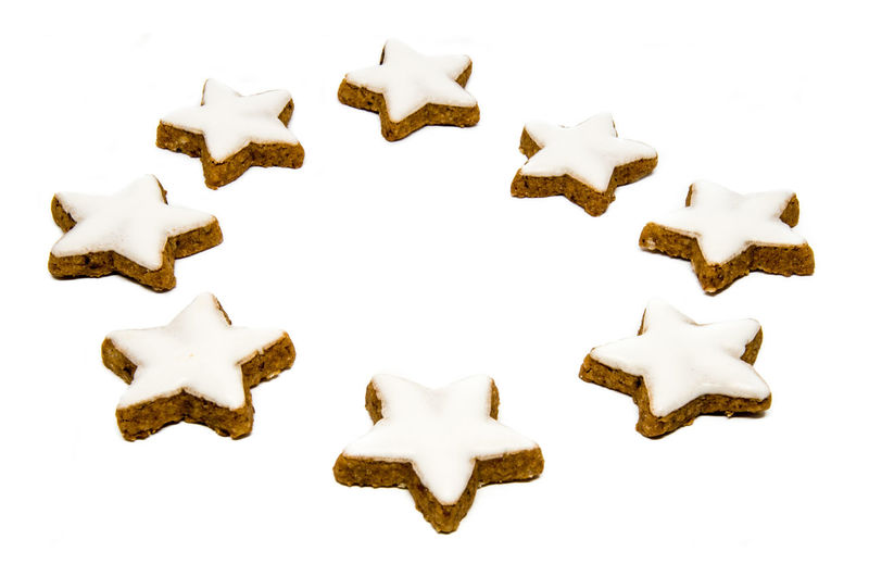 Star shaped cinnamon cookies Christmas Christmas Cookie Christmas Cookies Cinnamon Cookie Food Star Star Cookie Star Shaped Star Shaped Fudge White Background