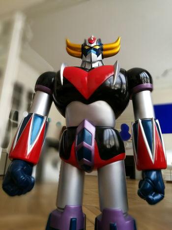 Robot Space Goldorak Vintage Toy Design