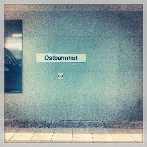 I hate it when i miss the train... :-/ Metro Frankfurt Still Ostbahnhof ubahn stileben
