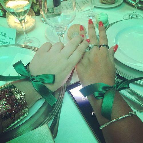 Un tocco di verde. Verdesperanza Instagood Photooftheday Instamood Naples Napoli Verde Fiocco Matrimonio Wedding Weddingday  VillaFattorusso