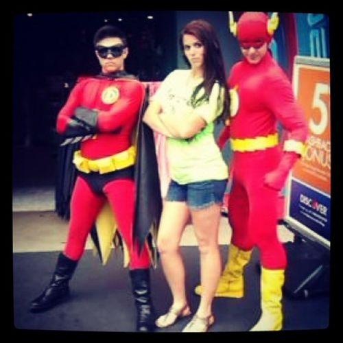 Superhero swag!! Sixflags Paradigm Servolution2014