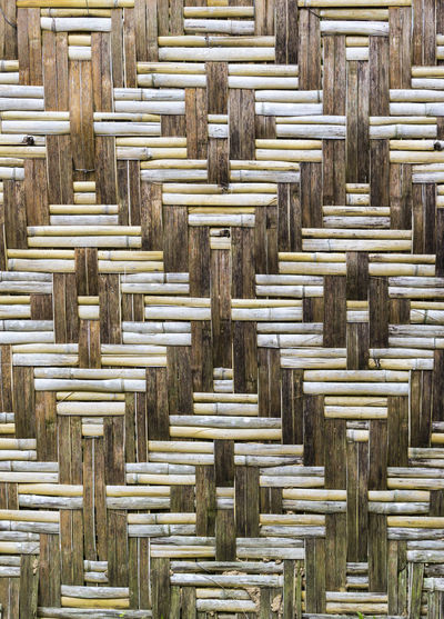 Bamboo wooden wall texture Backgrounds Bamboo Countryside Craft Decor Design Handmade Interlace Mesh Natural Pattern Rattan Retro Surface Textured  Wall Weave Wooden Woven Pattern