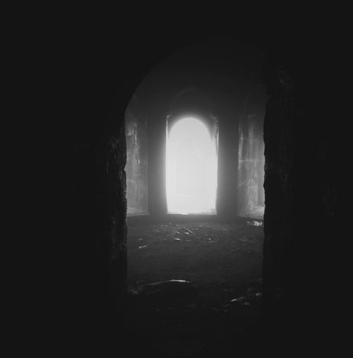 Indoors  Window History Mystery Ancient Dark Built Structure Spooky Horror Old Ruin Architecture No People Halloween Day Ancient Civilization Fortified Wall Personal Perspective Rock - Object Illuminated High Angle View First Eyeem Photo EyeEm Best Edits EyeEm Best Shots Leisure Activity Outdoors