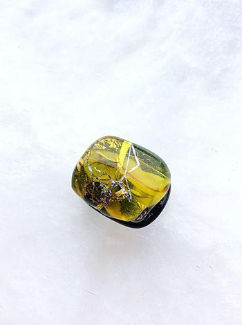 Glass Gold Leaf Traditional Craft Handmade Jewellery Handmade Crafts Handmade Sash Clip Obidome Craft Glass Art