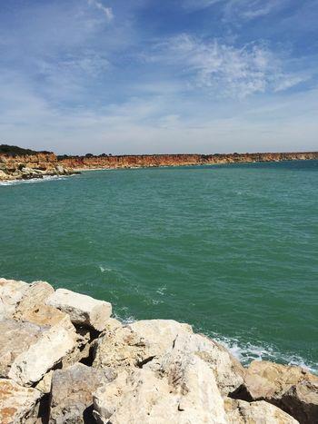 SPAIN Andalucía Conil De La Frontera Conil Coastline Blue Sea Sea Sea And Rocks Seascape Sea View Blue