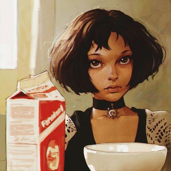 Movies Leon Milk Nicole Kidman ArtWork