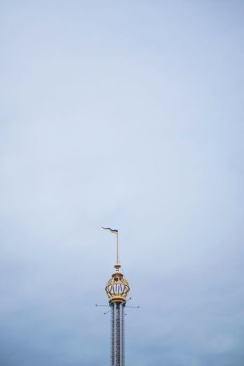Architecture Day Gröna Lund Low Angle View No People Outdoors Sky Weather Vane