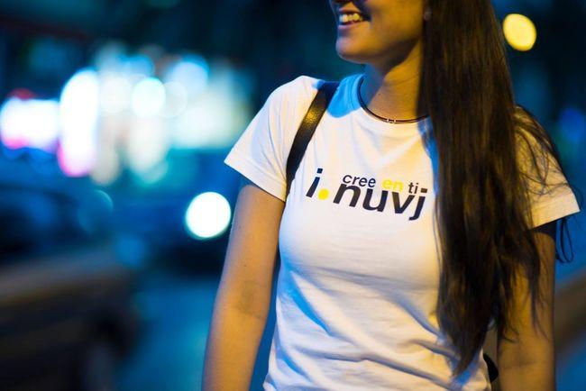 Cree en ti Camisetas Nuvj Enjoying Life Taking Photos Fashion Blogger Music Human Brand Nuvj Tshirt♡ The Street Photographer - 2016 EyeEm Awards WomeninBusiness Alcoy
