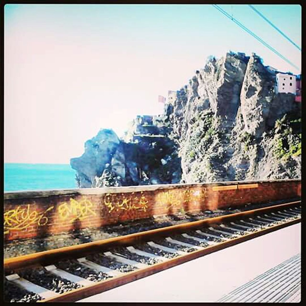 railing, day, transportation, no people, outdoors, nature, clear sky, scenics, sky, architecture, sea, beauty in nature