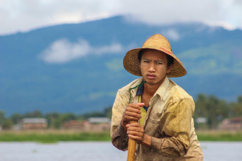 Burma Daily Life Inle Lake Intha Lake Myanmar People Person Shan Travel Travel Destinations Travel Photography Work