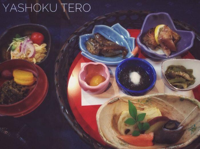夜食テロ 飯テロ 料亭 扇屋 Oct 26 Ready-to-eat Lunch Time! WASHOKU Japanese Food Foodphotography iPod touch Cam 33mm アレキュイジーヌ 八女市 Yame-city,Fukuoka Around The Kyushu de Good night