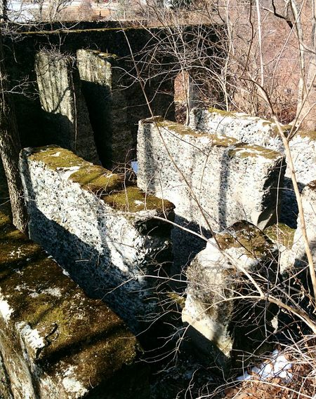 Abandoned Buildings Stone Ruins Forgotten Places  Off The Beaten Path Pillars