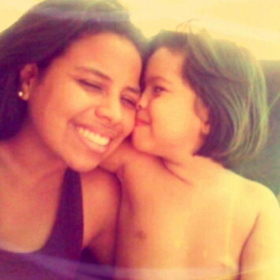 A coisa que me faz mais feliz é receber o amor dessa coisa rica da minha vida! Perola Luiza ♥ Irma Love Amorperfeito AmorTodaHora