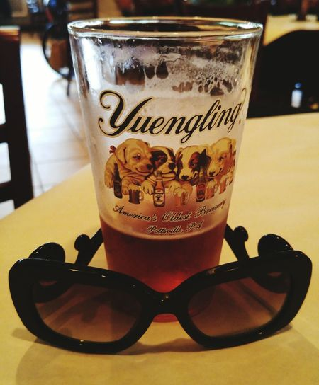 Beer Beer Time Beer Porn Hanging Out Taking Photos Check This Out Dogs Yuengling Pennsylvania Domestic Prada PradaGlasses Sunglasses 43 Golden Moments