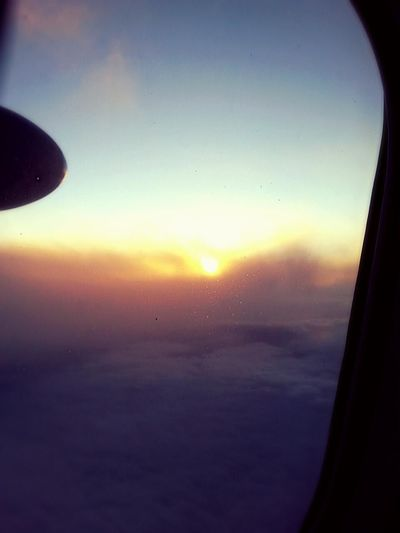 Sunset over the clouds... Sunset Window Sky Beauty In Nature Airplane Air Vehicle Airplane Wing Traveling Travel Photography Beautiful View Beautiful Beauty In Nature Smartphone Photography Sunset_collection Sunsetporn Sun Traveling Home For The Holidays Live For The Story Let's Go. Together. Perspectives On Nature