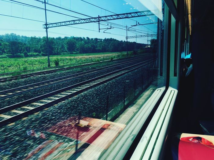 Coming back home... Traveling Alwaysontheroad Train Comingbackhome