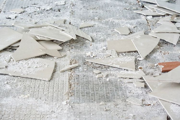 Architecture Breaking Broken Built Structure Construction Industry Damaged Day Demolished Design Destruction High Angle View Industry Messy Misfortune No People Outdoors Paper Piece Ruined Shape Shattered Glass