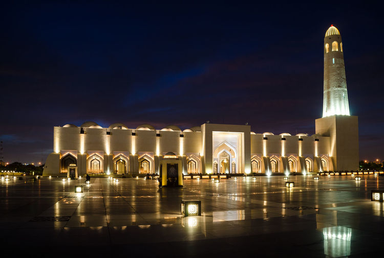 The state mosque of qatar