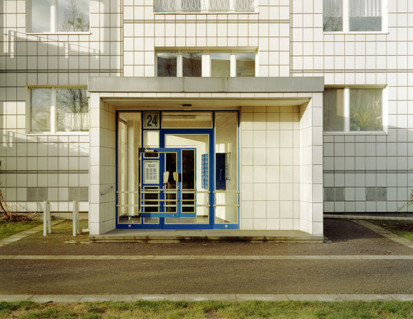 24 Architecture Berlin Building Exterior Built Structure Confusion Day Door Education Entrance Grass House No People Outdoor Outdoors Summer Tiles Window