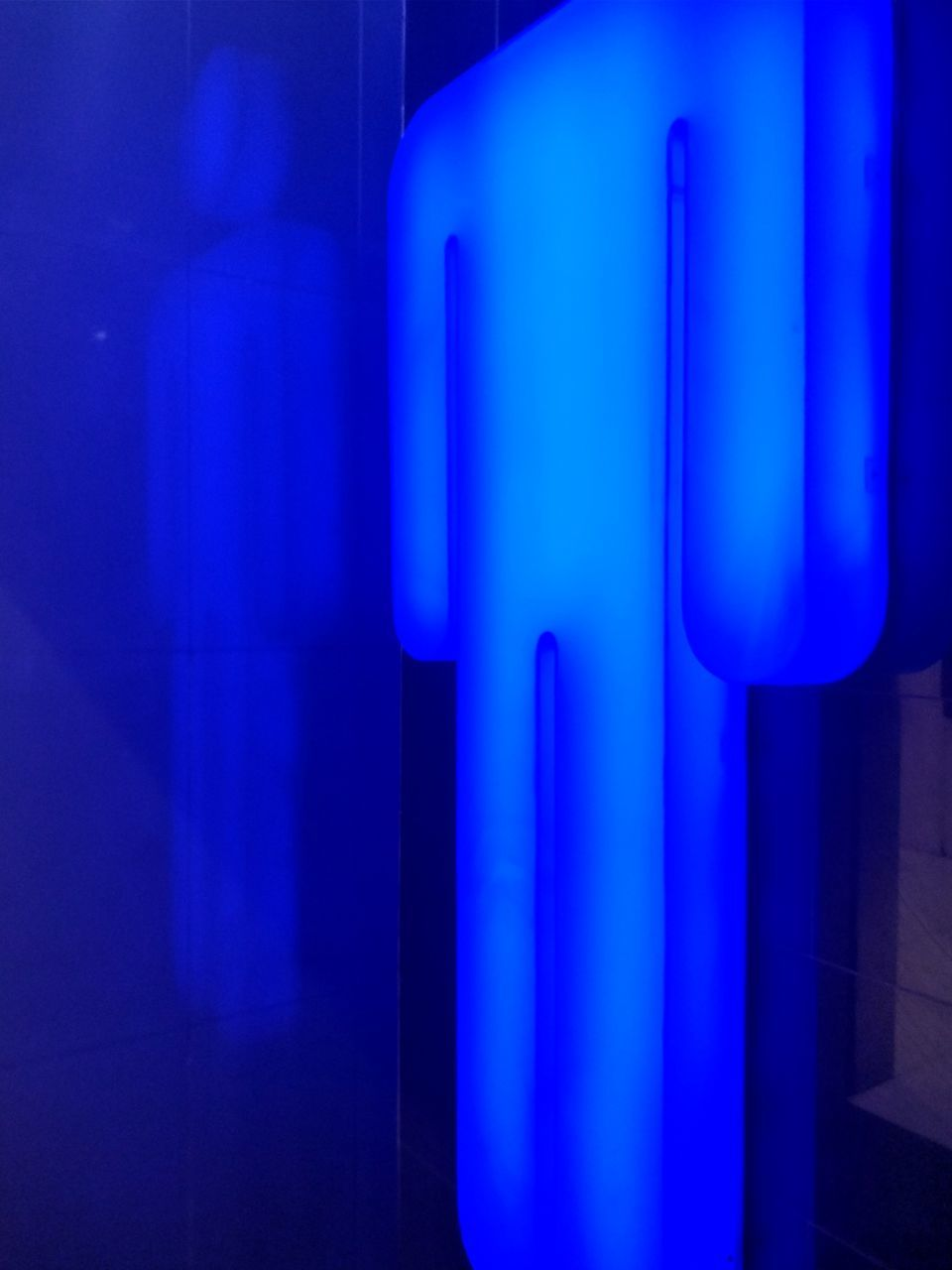 blue, no people, indoors, built structure, close-up, illuminated, day, architecture