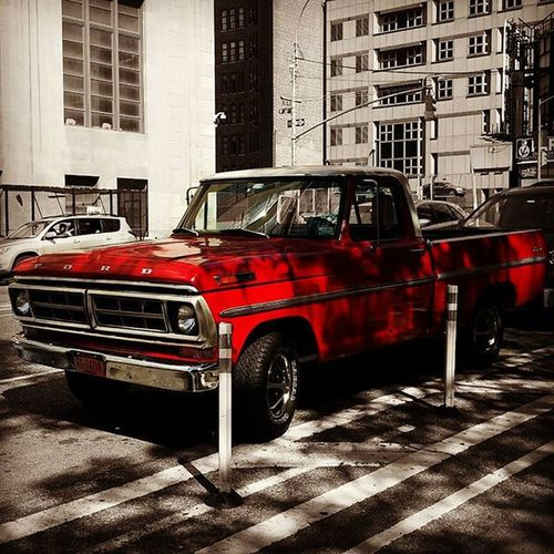 Ford Pickup Fordpickup Red Redtruck Vintage Vintagecar Vintagecars