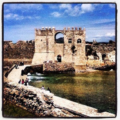 Greece Hellas Methoni Castle peloponisos