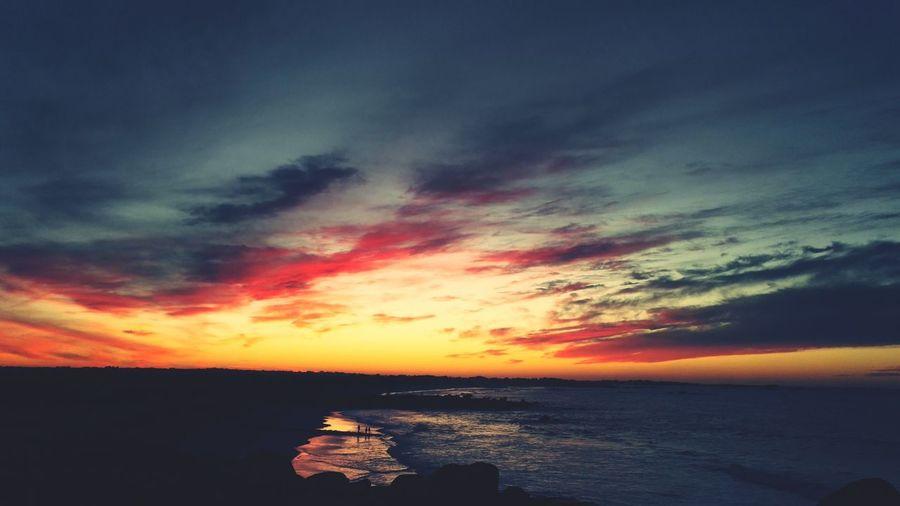 Sunset Kerlouan Roch' Ar Gong