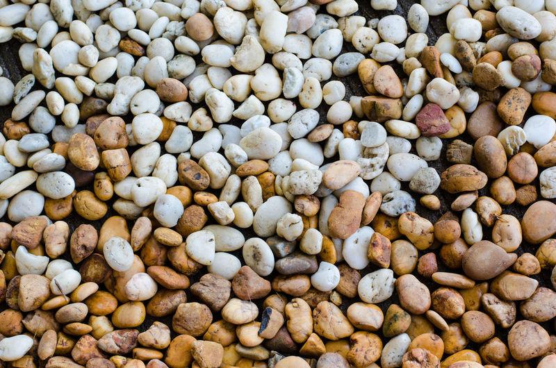 Full Frame Of Pebbles