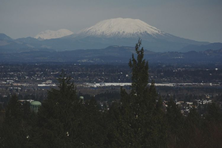 Mt. St. Helens  from Oregon's perspective... Canon Rebel Xsi