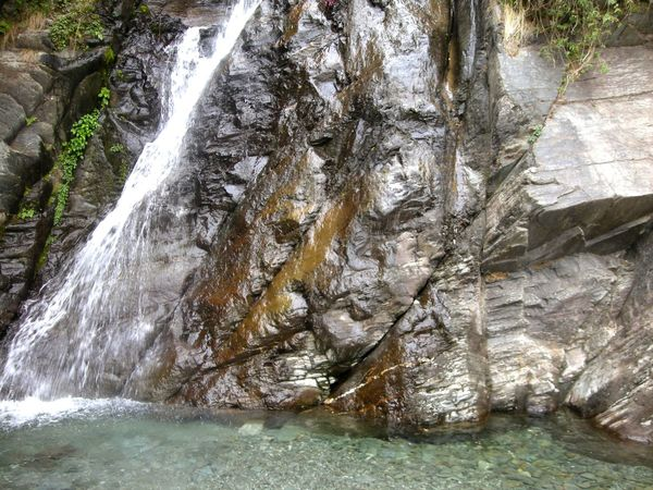 Water Nature Outdoors Beauty In Nature Forest Waterfalls💦 Spraying Motion Dharamshala , Himachal Pradesh, India