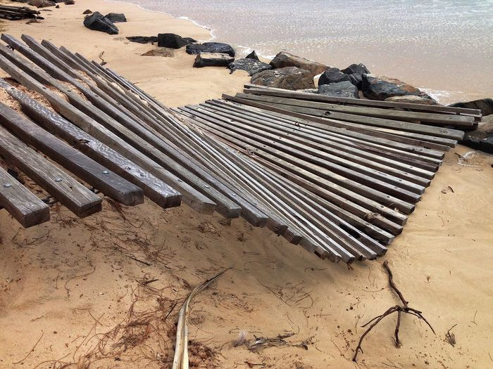Erosion before Cyclone Msrcia hits Sunshine Beautiful Beach Sea Exploring Storm Surf Photography Iphoneonly Australia Water