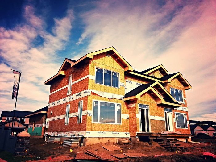 Check This Out House Building New Home Construction New Home Edmonton Construction Construction Site New Construction Edmonton Home Builders Constructionequipment Edmonton, AB
