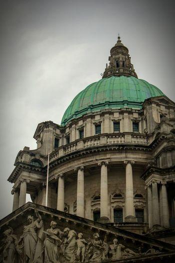 Belfast City Hall Belfast Building Architecture Saturation