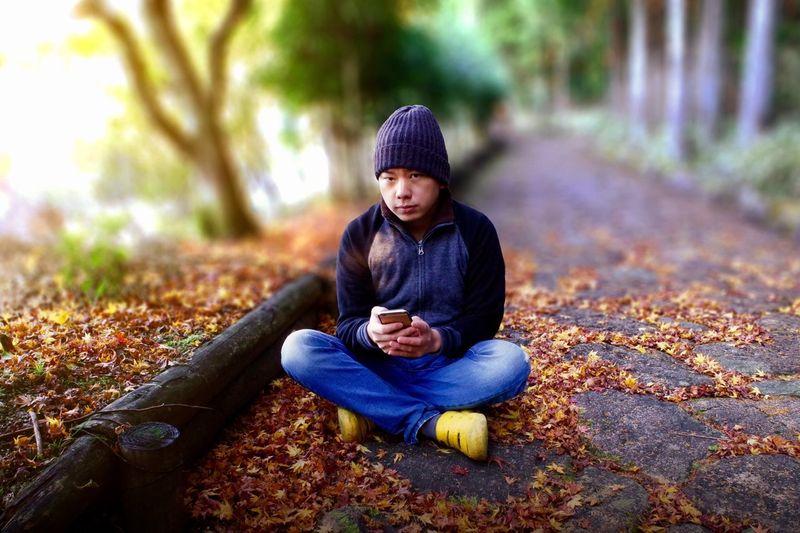 Sitting Autumn