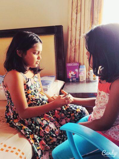 Henna Tattoo Kids Sisters Love Cuties <3