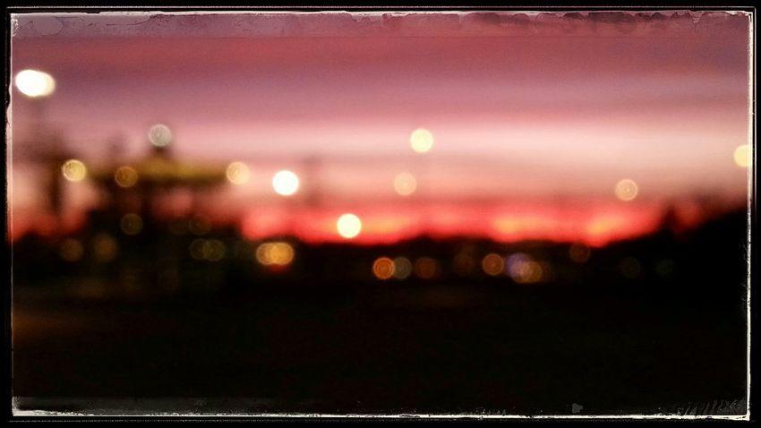 Blur Taking Photos Sundown Light And Shadow