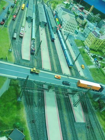 Modeling Miniversum Modelling Cityscape Transportation Train - Vehicle Model Table