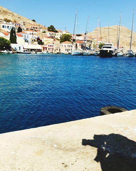 EyeEmNewHere Water Outdoors Sea Day Shadow Rhodes Chalki EyeEmNewHere