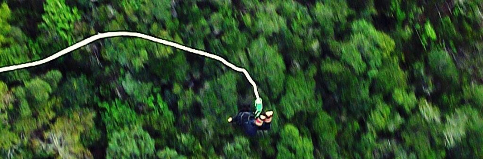 World's Highest Bungy Jump  That's Me